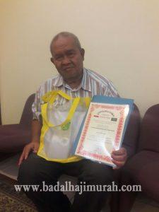 Testimoni Bapak H. Arief